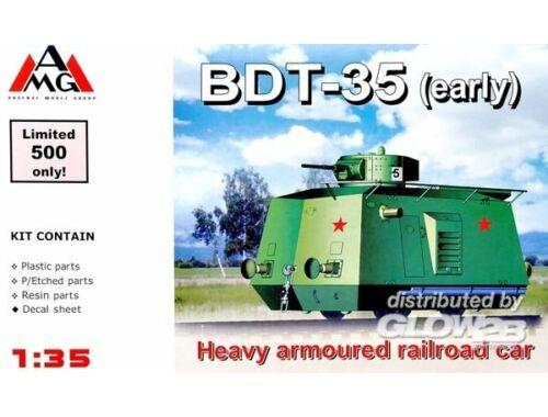 AMG BDT-35 Heavy Armored Traine WWII 1:35 (35407)