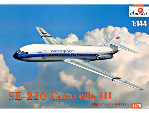 """Amodel SE-210 """"Carawella"""" III 1:144 (1478)"""