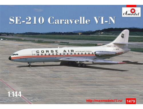"Amodel SE-210 ""Carawella"" VI-N 1:144 (1479)"