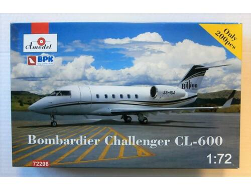Amodel Bomardier Challenger CL-600 1:72 (72298)