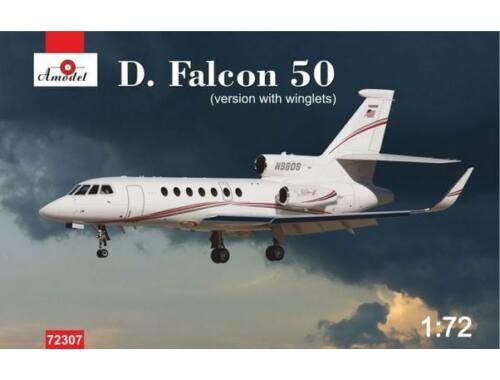 Amodel Dassault Falcon 50(version with winglets 1:72 (72307)