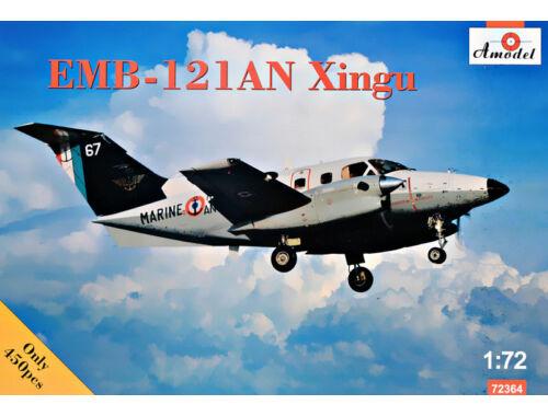 Amodel Embraer EMB-121AN Xingu France 1:72 (72364)
