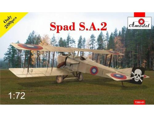 Amodel SPAD S.A.2 fighter 1:72 (7260-01)