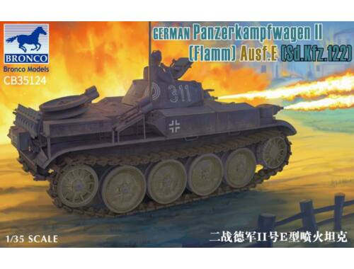 Bronco German Panzerkampfwagen II Flamm Ausf. E (Sd.Kfz. 122) 1:35 (CB35124)