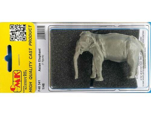 CMK Asian Elephant (1 figure) 1:48 (F48341)