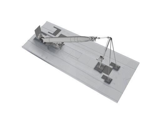CMK U-Boot IX Bow Torpedo w/Loading Winch and Cart,for Revell kit 1:72 (N72019)