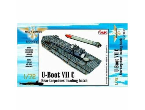 CMK U-Boot VII-IX Ammo and Food Supplies, for Revell 1:72 (N72028)