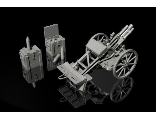 CMK German WWI 7.58cm Leichter Minenwerfer n/A-all resin kit 1:35 (RA059)
