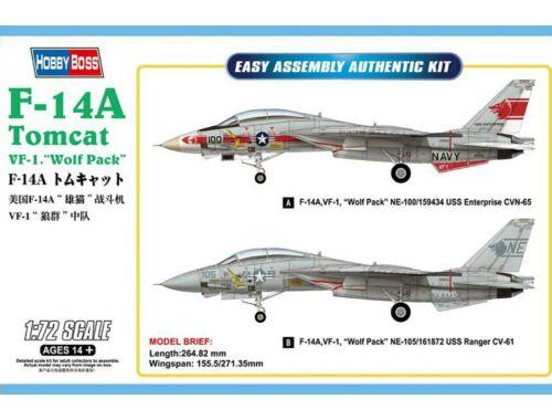 Hobby Boss F-14A Tomcat 1:72 (80276)