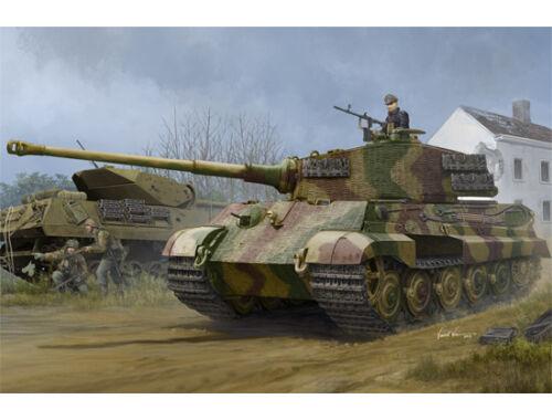 Hobby Boss Pz.Kpfw.VI Sd.Kfz.182 Tiger II (Henschel 1944 Production) w/Zimmerit 1:35 (84531)