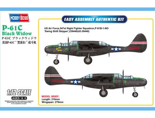 Hobby Boss US P-61C Black Widow 1:72 (87263)
