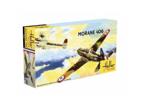"""Heller Morane Saulnier 406-C1, """"Heller Museum"""" 1:72 (80213)"""