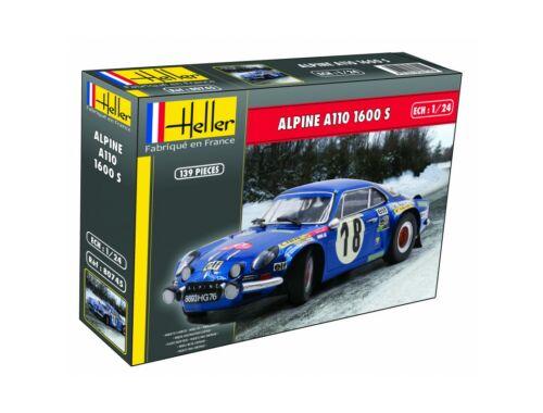 Heller Alpine A110 (1600), Classic 1:24 (80745)