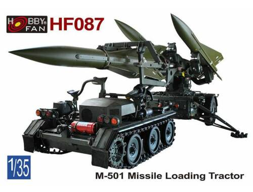 Hobby Fan M-501 Missile Loading Tractor 1:35 (HF087)