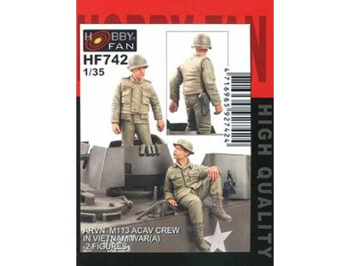 Hobby Fan ARVN M113 Crew(1)-2 Figures 1:35 (HF742)