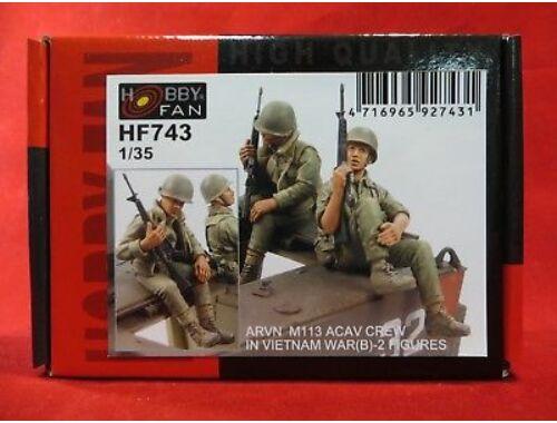 Hobby Fan ARVN M113 Crew(2) -2 Figures 1:35 (HF743)