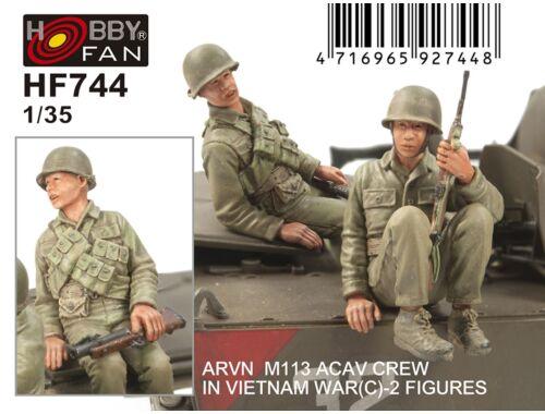 Hobby Fan ARVN M113 Crew(3) -2 Figures 1:35 (HF744)