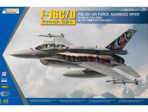 Kinetic F-16C/D Block 52  POLISH Air Force 1:48 (48076)