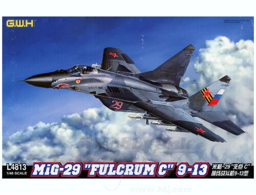 "Lion Roar MiG-29 9-13""Fulcrum C"" Korean People's Army Air Force 1:48 (S4811)"