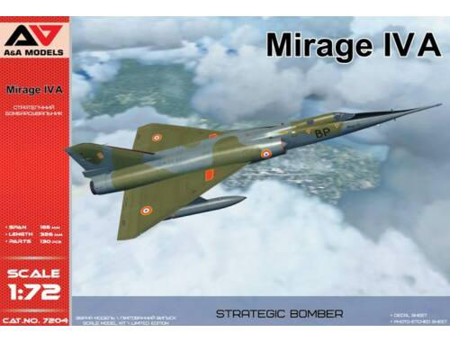 Modelsvit Mirage IV A Strategic bomber 1:72 (AAM7204)