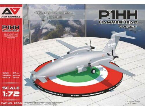 Modelsvit P1.HH HammerHead(Concept) UAV 1:72 (AAM7206)