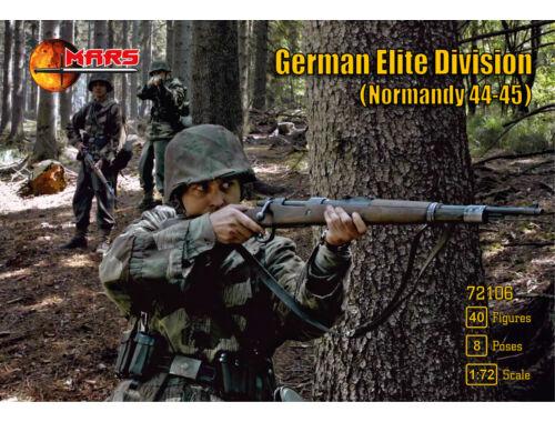 Mars German elite division,Normandy 1944-45 1:72 (72106)