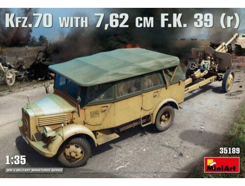 Miniart Kfz.70/7,62 cm F.K. 39(r) 1:35 (35189)
