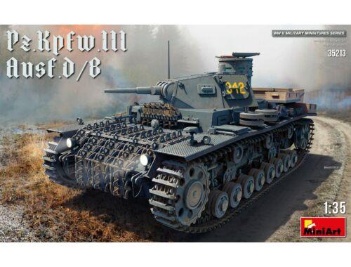 Miniart Pz.Kpfw.III Ausf. D/B 1:35 (35213)