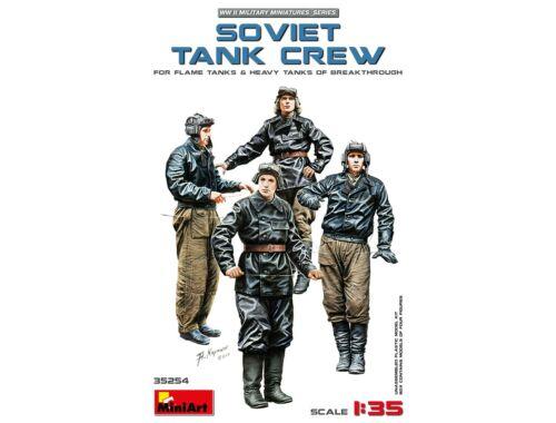 Miniart Soviet Tank Crew(for Flame Tanks