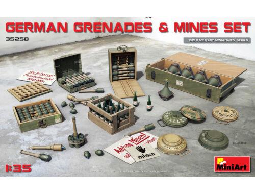 Miniart German Grenades