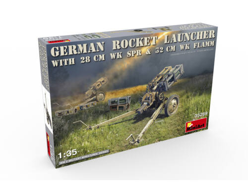 Miniart German Rocket Launcher with 28cm WK Spr