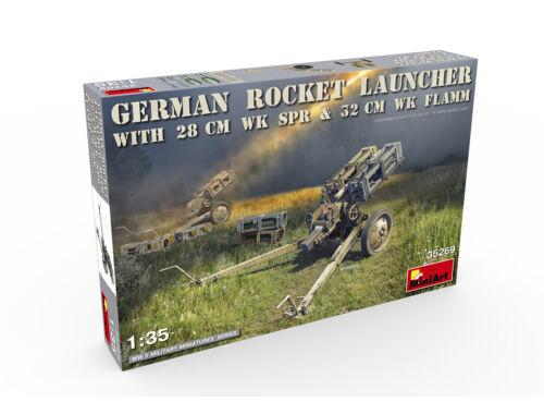 Miniart German Rocket Launcher with 28cm WK Spr