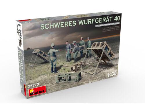 Miniart Schweres Wurfgerät 40 1:35 (35273)