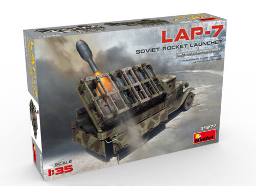 Miniart Siviet Rocket Launcher LAP-7 1:35 (35277)