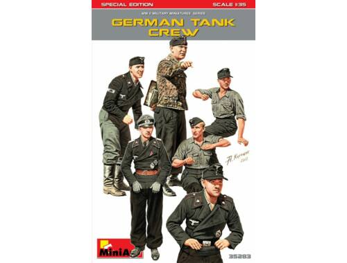 Miniart German Tank Crew. Special Edition 1:35 (35283)