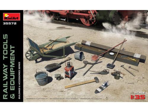 Miniart Railway Tools