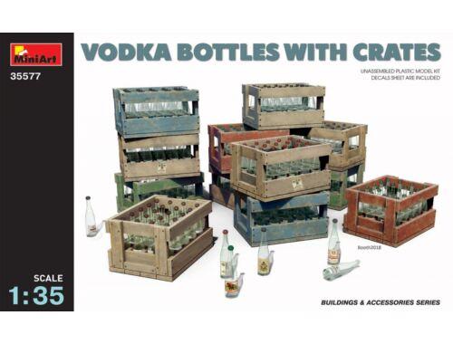 Miniart Vodka Bottles with Crates 1:35 (35577)