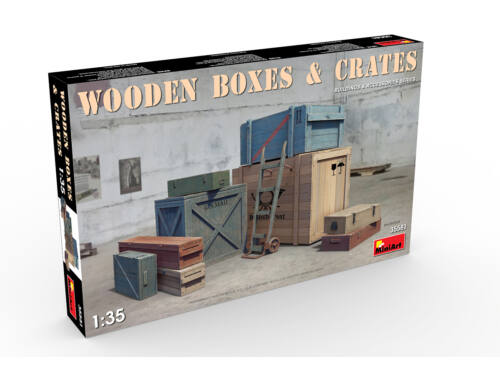 Miniart Wooden Boxes