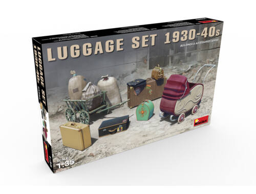 Miniart Luggage Set 1930-40s 1:35 (35582)