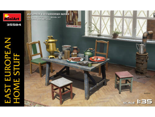 Miniart East European Home Stuff 1:35 (35584)