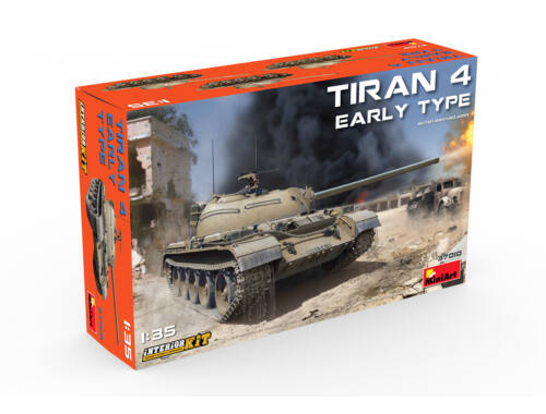 Miniart Tiran 4 Early Type. Interior Kit 1:35 (37010)