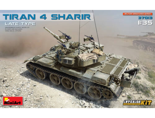 Miniart Tiran-4 Sharir-late type (Interior Kit) 1:35 (37013)