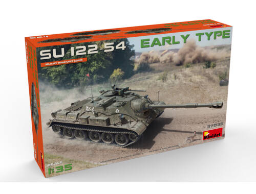Miniart SU-122-54 Early Type 1:35 (37035)