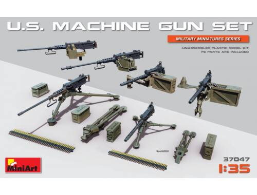 Miniart U.S. Heavy Machinegun Set 1:35 (37047)