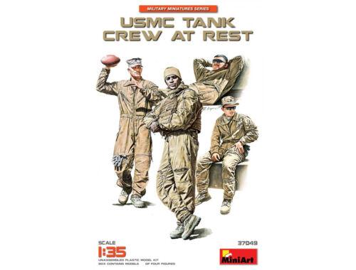 Miniart USMC Tank Crew at Rest 1:35 (37049)