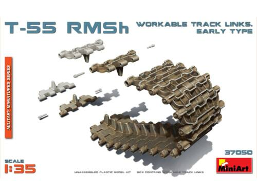 Miniart T-55 RMSh Workable Track Links.Early Typ 1:35 (37050)