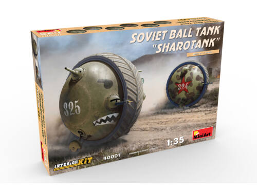 "Miniart Soviet Ball Tank ""Sharotank""Interior Kit 1:35 (40001)"
