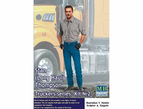 Master Box Stan (Long Haul)Thompson,Truckers series Kit No.2 1:24 (24042)