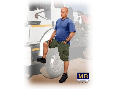 Master Box Jimmy (Tex) Haywood,Truckers series Kit3 1:24 (24043)