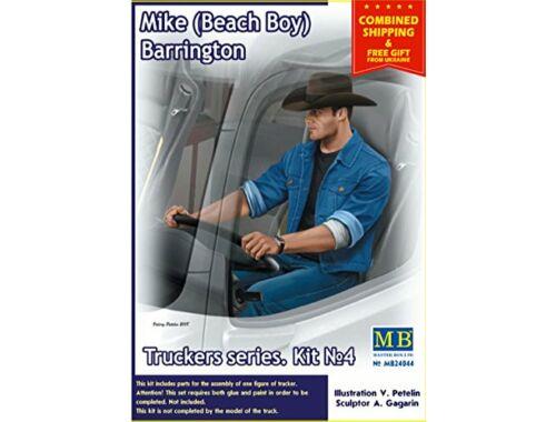 Master Box Truckers series.Mike(Beach Boy)Barringto 1:24 (24044)